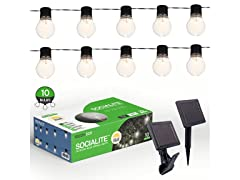 Solar Patio String Lights NITEBULBS