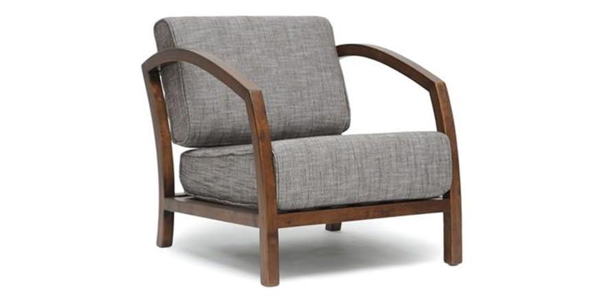 Velda Brown Modern Accent Chair