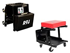 400 lbs Capacity Roller Seat