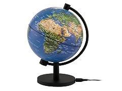 """5"""" Illuminated Physical Globe"""