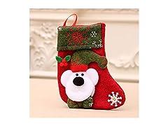 Santa Socks Hanging Accessories