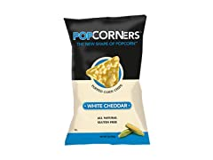 PopCorners White Cheddar 12-Count 5oz Bag
