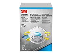 3M Performance Respirator Paint Prep Mask 20-Pack