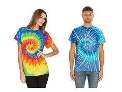 Krazy Tees Tie Dye T-Shirt 2-Pack