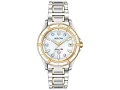 Bulova Two-Tone Dress Watch
