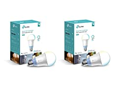 TP-Link Tunable LED Light Bulb, 2-Pack
