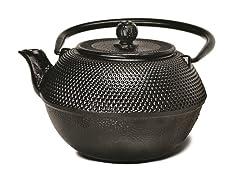 40 Ounce Tea Pot- Black