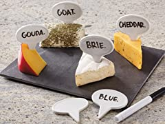 Cheese Markers Board Set