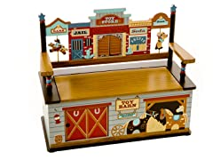 Wild West Toy Box