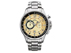 Men's Stainless Steel Chronograph