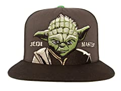 Yoda Embroidered Kids Ball Cap