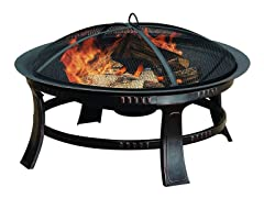 Pleasant Hearth Wood Burning Fire Pit