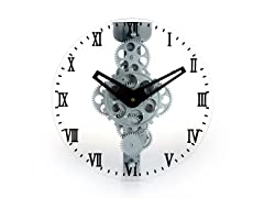 Moving Gear Wall Clock - Gear Style 333