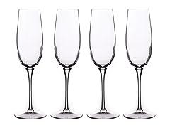 Luigi Bormioli Crescendo Champagne S/4