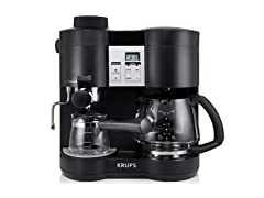 KRUPS 10-Cup Coffee/Espresso Combo Machine
