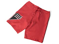 Beach Comber Board Short - Red