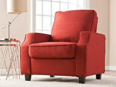 Parkdale Arm Chair - Cherry Red