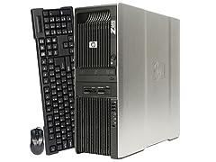 HP Z600 Dual Intel Xeon E550 WorkStation