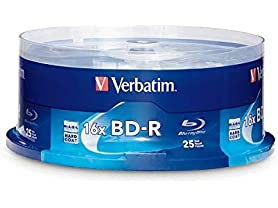 Verbatim 97457  BD-R 25GB 16X Blu-ray Recordab