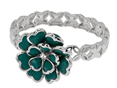 Relic Stretchable Bracelet, Silver