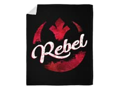 """I'm a Rebel"" Blanket"
