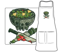 """Guac The Plank"" Apron"