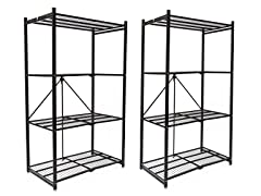 Pop-It Collapsible Storage Racks 2-Pack