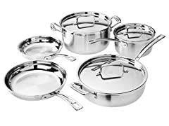 Cuisinart 8 PC. MultiClad Pro Cookware Set