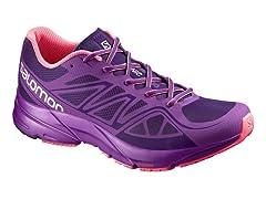 Salomon Women's Sonic Aero Shoes Purple