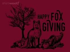 Happy Fox Giving