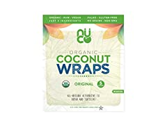 NUCO Coconut Wraps, 5 Pack