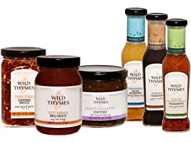 Wild Thymes Condiment Sampler (6)