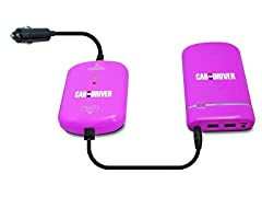 Car and Driver LI1015P Jump Starter, Pink