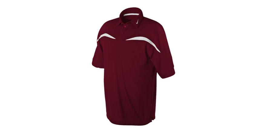 Sphere dri fit polo maroon white for Maroon dri fit polo shirt