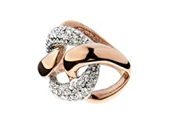 14k Rose Gold Plated Fashion Ring