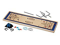 4-in-1 Shuffleboard/Football Game
