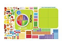 Peel, Play & Learn Healthy Eating Wall Play Set