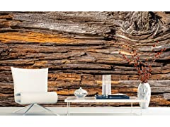 Tree Bark Wall Mural