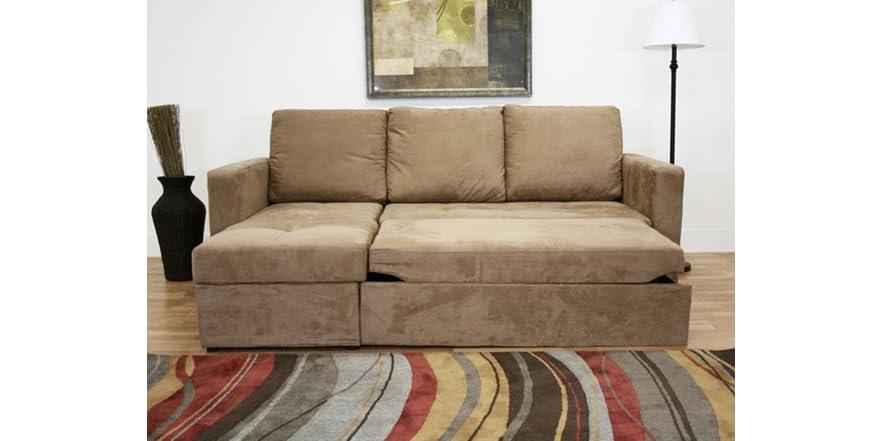 Linden Convertible Sectional Sofa Bed
