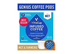 VitaCup Genius Blend Coffee Pods, 16-Count
