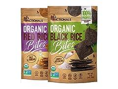 Rice Crackers Organic Gluten Free Crackers, 2 Pack