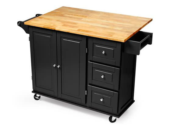 Three Drawer Kitchen Cart 3 Colors