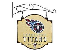 Tennessee Titans Vintage Tavern Sign