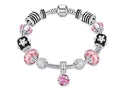 Roses in Pink Bracelet
