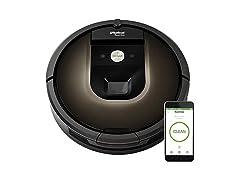 iRobot Roomba 980 Wi-Fi Robot Vac (Open Box)