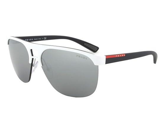 Prada White Frame Glasses : Advertisement