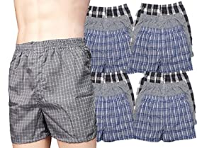 Men's 12-Pack Boxer Shorts