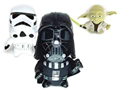 Star Wars Super Deformed Plush 5-Choices