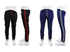 Mens Heavy Tech Fleece-Lined Joggers 2Pk