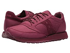 Saucony Men's Jazz Original Burgundy Shoes